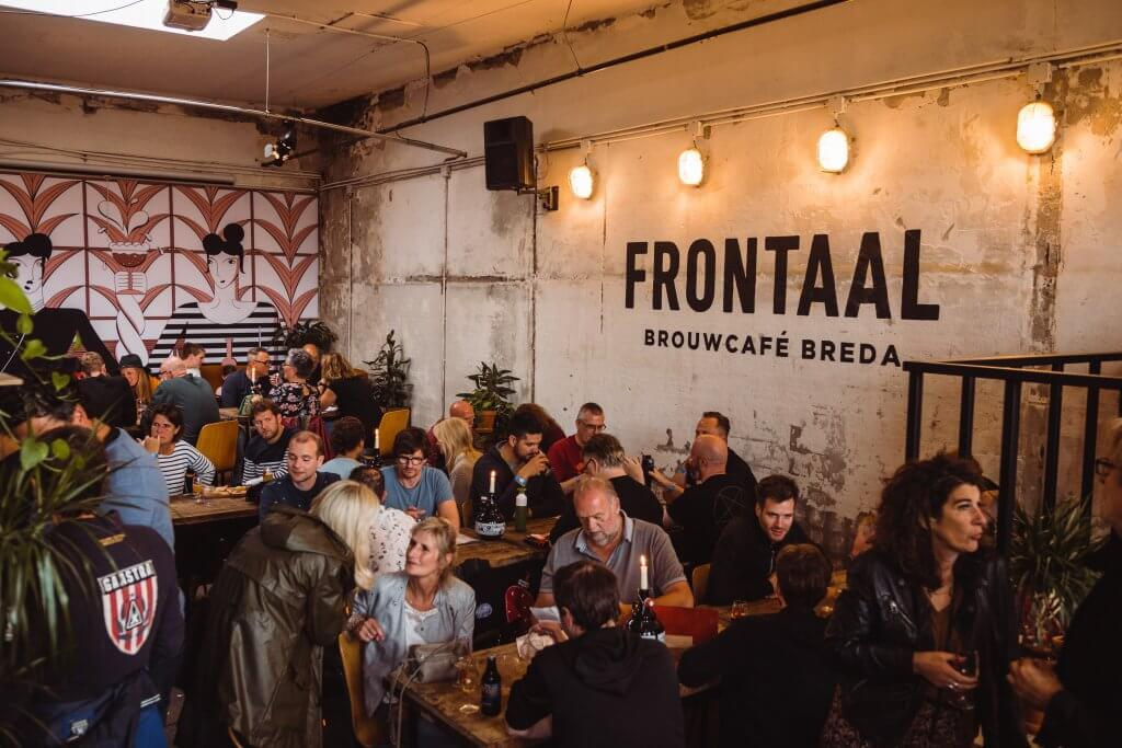 brouwcafe frontaal breda