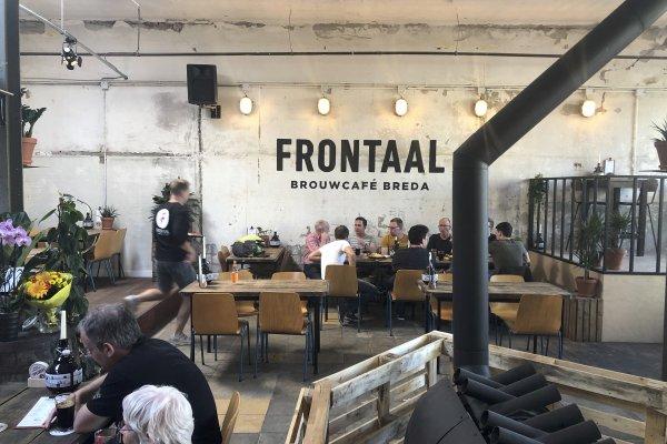 Brouwerij Frontaal opent eigen hotspot in Breda!
