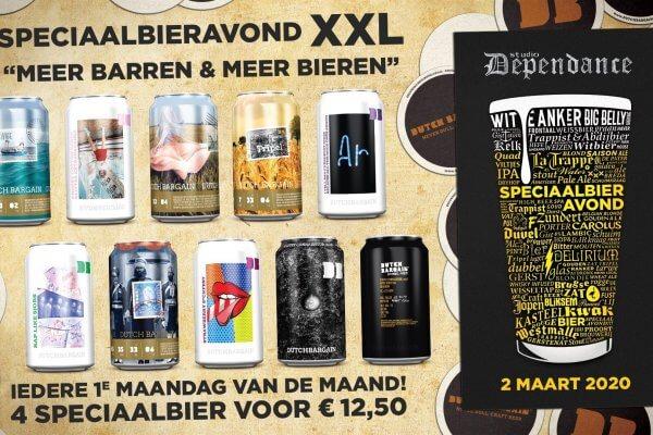 Wat te doen op maandag in Breda?: Speciaalbieravond XXL