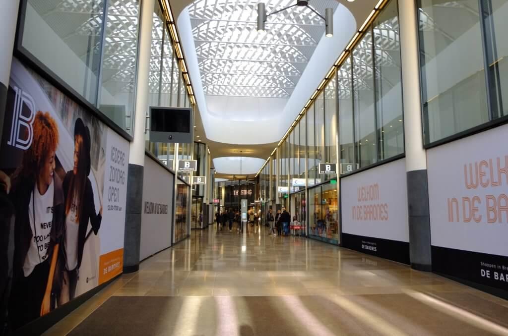 De drie grootste winkelcentra van Breda